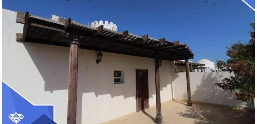 Beautiful 5 Bedrooms+Private Garden Villa For Rent in Shati Al Qurm. Opp.To Shati Al Qurm Park.