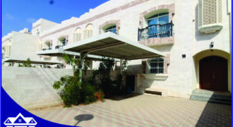 5 Bedrooms+Maid Room With Swimming Pool Villa For Rent in The Prime Location of Madinat Qaboos