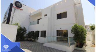3 Bedrooms+Maid Room Commercial And Residential Villa For Rent in Qurum At Prime Location.   For Rent : 750 OMR
