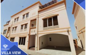 Beautiful & Spacious 6 Bedrooms+Maid Room With Swimming Pool Villa For Rent in Bousher, Al Muna