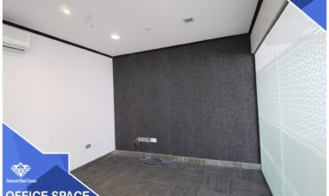 Executive Modern Office Space Available At The Prime Location of Wattayah. It Has Good Connectivity and Easy Approach To Daily Necessities. 210 SQM For Rent : 1200 OMR